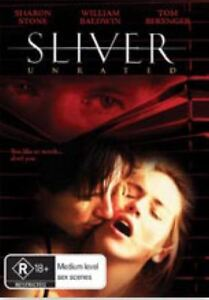 SLIVER Sealed DVD Sharon Stone Free Local Shipping