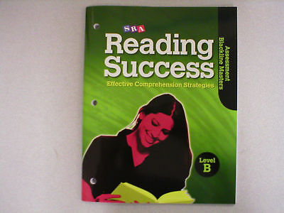 Sra Reading Success B Assessment Masters 0076184862