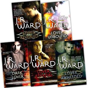 Black-Dagger-Brotherhood-J-R-Ward-5-books-Set