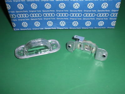 Gen. Vw Scirocco 2 Ii Clear License Plate Light