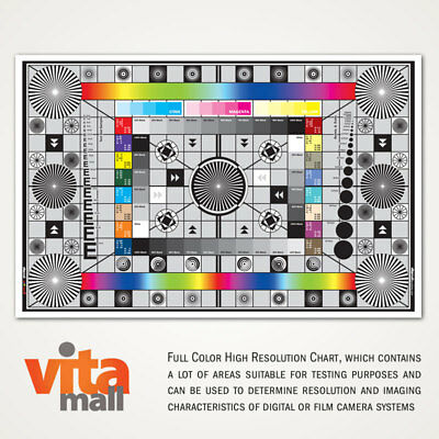 Large Test Chart For Mamiya Dm22 Digital Back, Camera & Lens By Vitamall