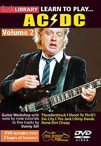 LICK LIBRARY - LEARN TO PLAY ACDC VOLUME 2 GUITAR DVD