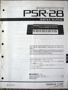 Yamaha psr 28 - Portabicis de porton