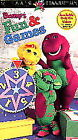 Barney - Barney's Fun and Games (VHS, 1996)