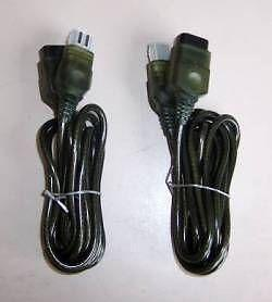 TWO NEW 6 Foot Controller Extension Cables for the Original XBOX Console System