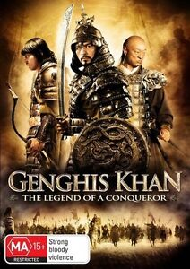 By The Will Of Genghis Khan - The Legend Of A Conqueror (DVD, 2011) FREE POSTAGE