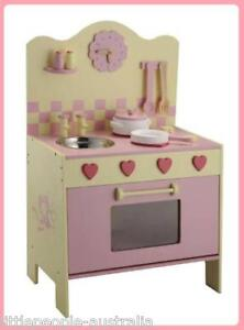 WOODEN-TOY-KITCHEN-COOKING-CENTRE-OVEN-HOTPLATE-SINK
