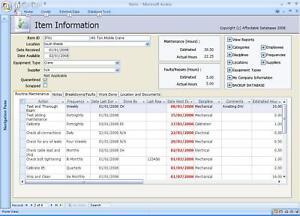 Routine-Maintenance-Database