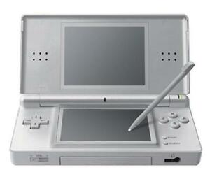 Nintendo-DS-Lite-METALLIC-SILVER-Handheld-System-A-MUST-HAVE