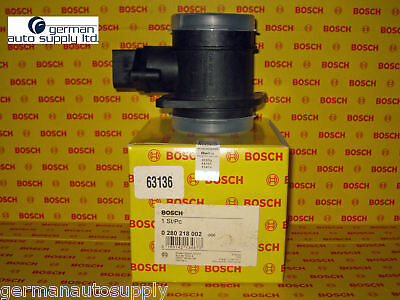 Volkswagen Air Mass Sensor - BOSCH - 0280218002 / 63136 - NEW OEM VW MAF