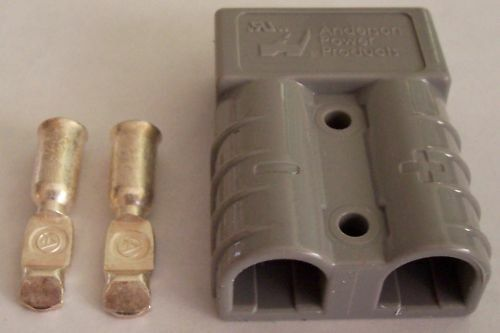 L@@K   SPECAL   4 x GENUINE ANDERSON PLUG  50Amps  (B/NEW)
