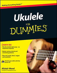 Ukulele For Dummies by Wood, Alistair Jun-24-2011, Paperback, New Book