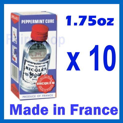 Ricqles Peppermint Cure Medicated Antiseptic Pain X 10