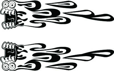 Rc Airbrush Stencils/ Paint Masks Screamers (single Use Only)