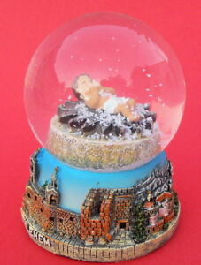 Baby-Jesus-Nativity-Snow-Globe-dome-Bethlehem-Curch-Holy-Land-Christian-Gift