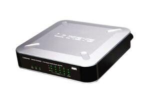 Cisco RVS4000 1000 Mbps 4-Port Gigabit Wired Router