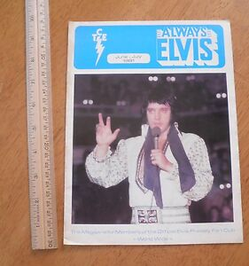 Always-Elvis-Official-Fan-Club-mag-1981-Presley
