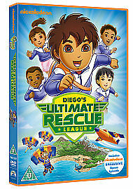 Go Diego Go: Diego's Ultimate Rescue League [DVD] New & Sealed