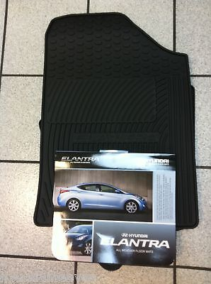 2011 2012 2013 Genuine Hyundai Elantra All Weather floormats GLS Limited Mats