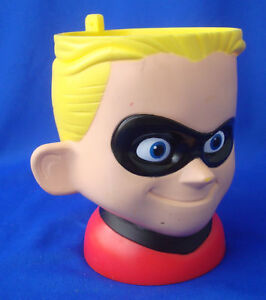 Disney-Pixar-On-Ice-mug-cup-DASH-Incredibles-plastic