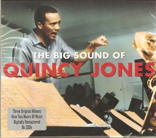 THE BIG SOUND OF QUINCY JONES 2 CD BOX SET - JAZZ