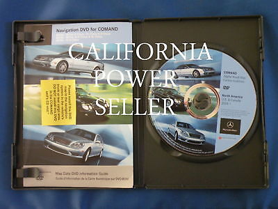 2004 2005 Mercedes S350 S430 S500 S600 S55 CL500 CL600 CL55 Navigation DVD Map