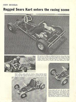 Vintage 1961 Sears Go-kart Introduction Ad
