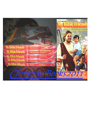 My Bible Friends 5 volumes and video & audio DVD of All Five Books
