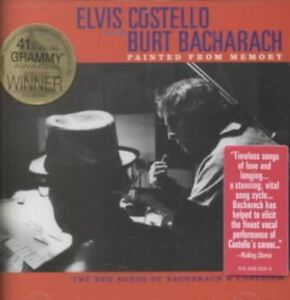 ELVIS-COSTELLO-WITH-BURT-BACHARACH-PAINTED-FROM-MEMORY-12-TRACKS-1998