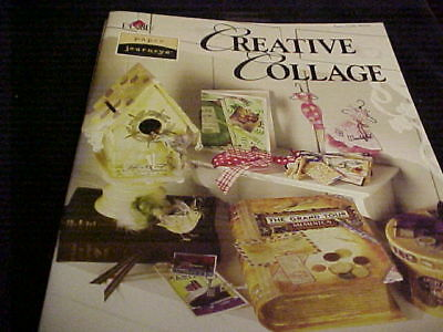 Paper Journeys Creative Collage Craft Book 9750 Plaid 40 Inspiring Projects