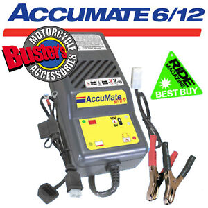 Accumate-6volt-12Volt-Motorcycle-Jetski-Car-Battery-Optimiser-Optimate-Charger