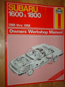 1980-1988-SUBARU-1600-1800-SHOP-MANUAL-SERVICE-BOOK