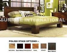 Sunrise 5 pc Wooden Bedroom Set -1 Queen Double Bed ,2 bedside,1 dresser,1 frame