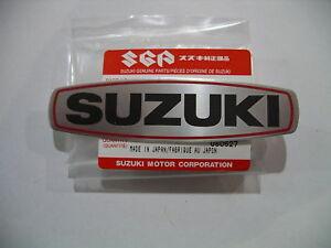 Genuine-Suzuki-Engine-Case-Emblem-TS125-A-B-TS185-A-B-C-TS185ER-TS250ER