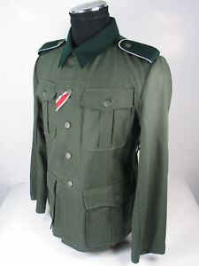 Collectable WWII German Elite M36 Summer Soldier Uniform Tunic&Pant XL