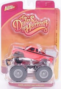 DUKES of HAZZARD MONSTER TRUCK  1/64 A1