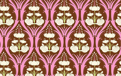 Amy Butler Soul Blossoms Passion Lily Fabric In Fern Ab66 Craft Supplies