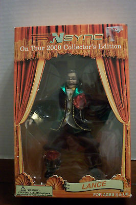 Nsync Lance On Tour 2000 Collector's Edition 6 1/2 Marionette #20006 NIB 2000!