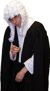 Victorian-Edwardian-JUDGE-BARRISTER-GOWN-WIG-COSTUME