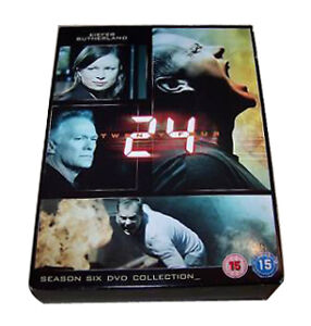 24-Series-6-Complete-DVD-2007-7-Disc-Set-i-4473-VERY-GOOD