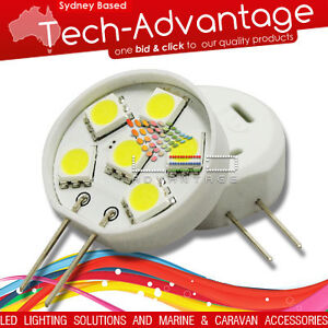 12V-6-SMD-LED-G4-PIN-GLOBE-LIGHT-MARINE-BOAT-CARAVAN