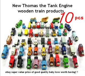 Value Price!/ Thomas the Wooden TRAIN LOT OF 10 NEW