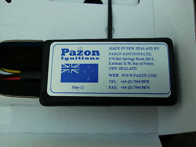 Triumph BSA Norton Pazon electronic ignition kit  12 v. Free ship to USA  stk026