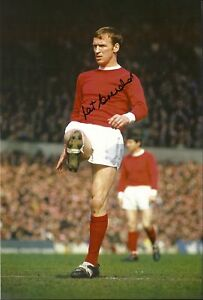 Paddy-Pat-Crerand-Signed-Manchester-United-Photo-COA