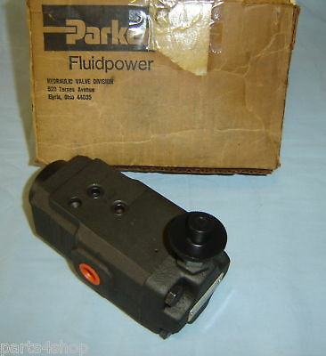 Parker Sc3pf Pressure Control Valve Hydraulic New