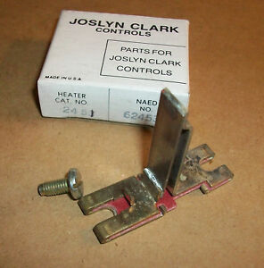 Sylvania Motor Starter Overload Heater 2451 Used Ebay