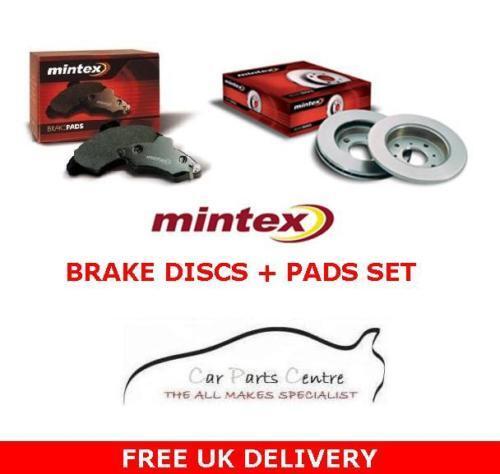 FOR SEAT LEON 1.9 TDi FR 150 Bhp REAR MINTEX BRAKE DISCS & BRAKE PADS 1999-2005