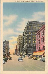 16th-Street-Looking-South-Omaha-NE-Postcard