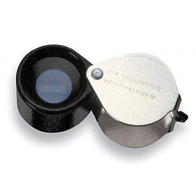 Bausch & Lomb 10x Coddington 81-61-31 Jeweler Loupe Magnifier