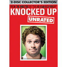 Knocked Up DVD 2Disc Set Unrated and Extended Version BRAND NEW